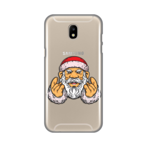 Maska Silikonska Print Skin za Samsung J530F Galaxy J5 2017 (EU) Rock And Roll Santa