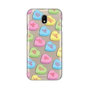 Maska Silikonska Print Skin Za Samsung J530F Galaxy J5 2017 (Eu) Valentines Candy Hearts