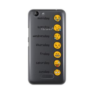 Maska Silikonska Print Skin Za Tesla Smartphone 3.3 Emoji Mood