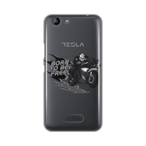 Maska Silikonska Print Skin Za Tesla Smartphone 3.3 Motorcycle