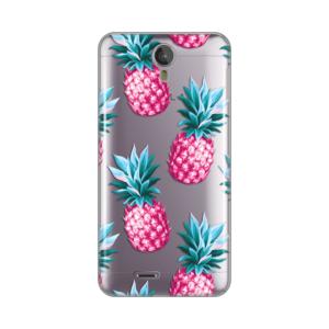 Maska Silikonska Print Skin Za Tesla Smartphone 6.2 Pink Pineapples