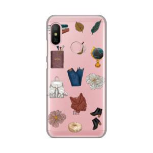 Maska Silikonska Print Skin za Xiaomi Redmi 6 Pro Fall Fashion