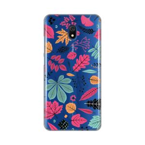 Maska Silikonska Print Skin za Xiaomi Redmi 8A Colorful Leaves