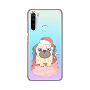 Maska Silikonska Print Skin za Xiaomi Redmi Note 8 Christmas Cutie