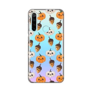Maska Silikonska Print Skin za Xiaomi Redmi Note 8 Funny Fall Squad