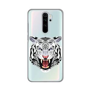 Maska Silikonska Print Skin za Xiaomi Redmi Note 8 Pro Mad Tiger