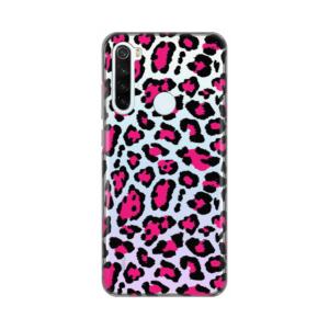 Maska Silikonska Print Skin za Xiaomi Redmi Note 8T Pink Jungle