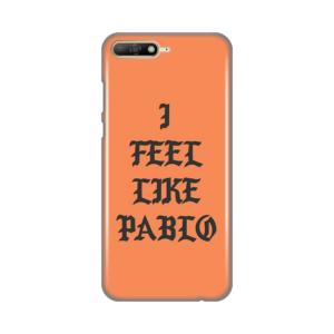 Maska Silikonska Print za Huawei Y6 2018 Feel Like Pablo
