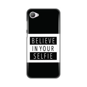 Maska Silikonska Print za HTC Desire 12 Believe in your selfie