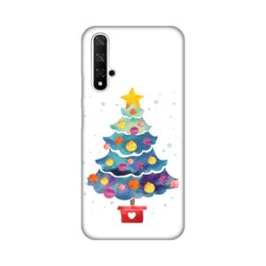 Maska Silikonska Print za Huawei Honor 20/Nova 5T Christmas Tree
