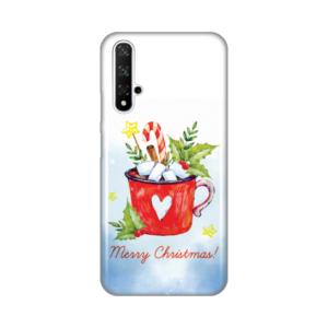 Maska Silikonska Print za Huawei Honor 20/Nova 5T Merry Christmas