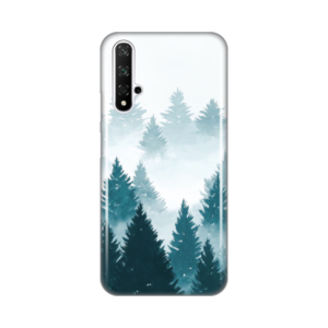 Maska Silikonska Print za Huawei Honor 20/Nova 5T Mountain Winter