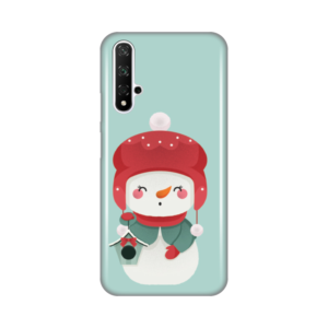 Maska Silikonska Print za Huawei Honor 20/Nova 5T Snowman