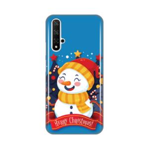 Maska Silikonska Print za Huawei Honor 20/Nova 5T Snowman Merry Christmas