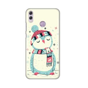 Maska Silikonska Print za Huawei Honor 8X Christmas Owl