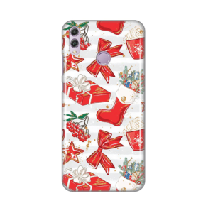 Maska Silikonska Print za Huawei Honor 8X Christmassy