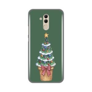 Maska Silikonska Print za Huawei Mate 20 Lite Christmas Tree