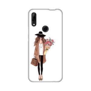 Maska Silikonska Print za Huawei P smart Z Autumn Fashion Girl