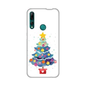 Maska Silikonska Print za Huawei P smart Z/Y9 Prime 2019 Christmas Tree