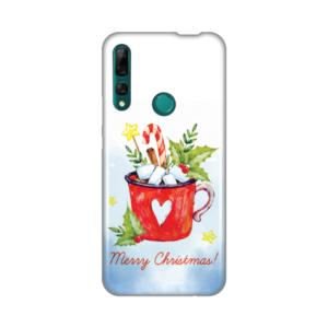 Maska Silikonska Print za Huawei P smart Z/Y9 Prime 2019 Merry Christmas