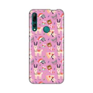 Maska Silikonska Print za Huawei P smart Z/Y9 Prime 2019 Pink Winter