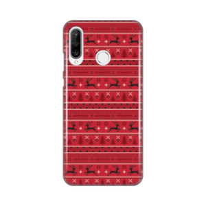 Maska Silikonska Print za Huawei P30 Lite Deers Pattern