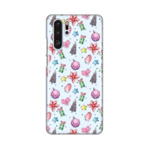 Maska Silikonska Print za Huawei P30 Pro Christmas Pattern