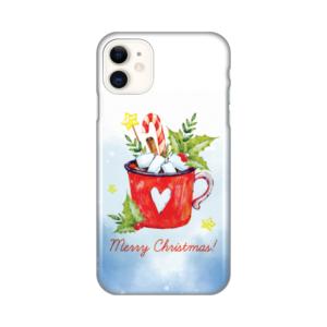 Maska Silikonska Print za iPhone 11 6.1 Merry Christmas