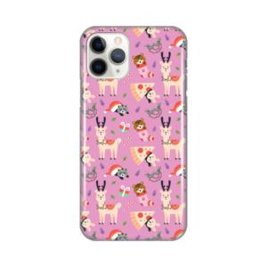 Maska Silikonska Print za iPhone 11 Pro 5.8 Pink Winter