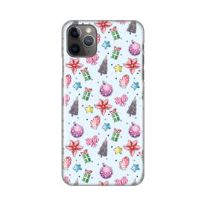 Maska Silikonska Print za iPhone 11 Pro Max 6.5 Christmas Pattern