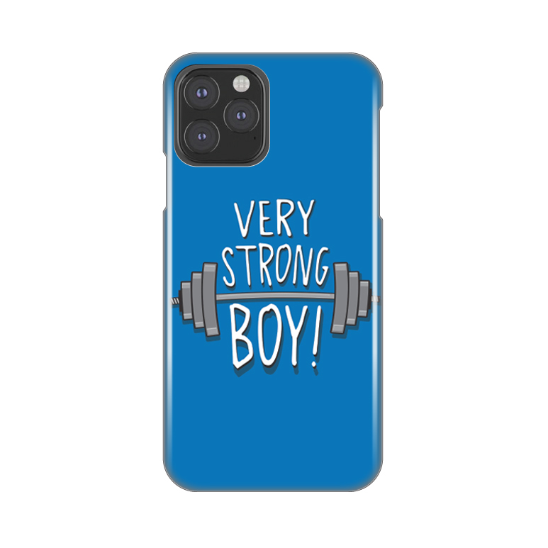 Maska Silikonska Print za iPhone 11 Pro 5.8 Very Strong Boy