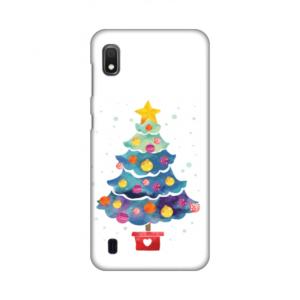 Maska Silikonska Print za Samsung A105F Galaxy A10 Christmas Tree