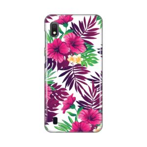 Maska Silikonska Print za Samsung A105F Galaxy A10 Pink Tropical Flowers
