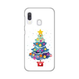 Maska Silikonska Print za Samsung A202F Galaxy A20e Christmas Tree