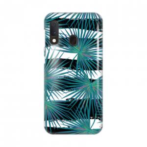 Maska Silikonska Print za Samsung A202F Galaxy A20E Exotic Leaves