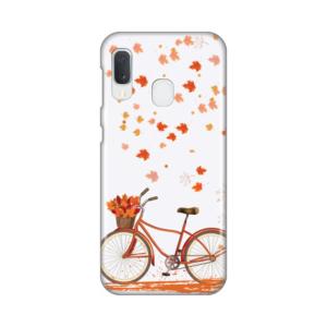 Maska Silikonska Print za Samsung A202F Galaxy A20e Fall Bike