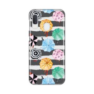 Maska Silikonska Print za Samsung A202F Galaxy A20e Happy Umbrellas