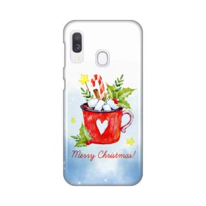 Maska Silikonska Print za Samsung A202F Galaxy A20e Merry Christmas