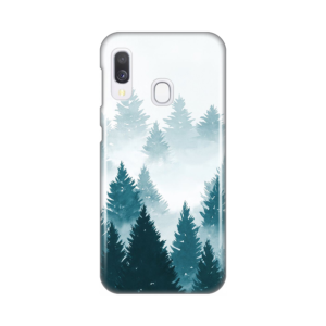 Maska Silikonska Print za Samsung A202F Galaxy A20e Mountain Winter