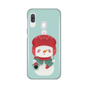 Maska Silikonska Print za Samsung A202F Galaxy A20e Snowman