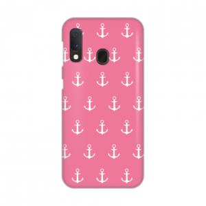 Maska Silikonska Print za Samsung A202F Galaxy A20e White Anchors on Pink