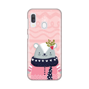 Maska Silikonska Print za Samsung A202F Galaxy A20e Winter Animal