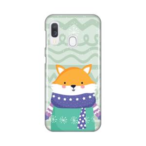 Maska Silikonska Print za Samsung A202F Galaxy A20e Winter Fox