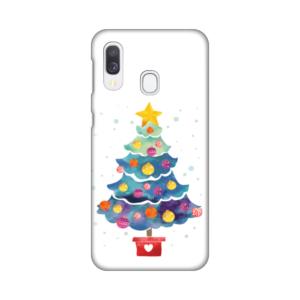 Maska Silikonska Print za Samsung A405F Galaxy A40 Christmas Tree
