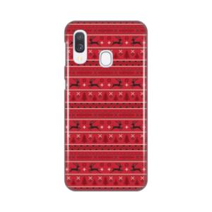 Maska Silikonska Print za Samsung A405F Galaxy A40 Deers Pattern