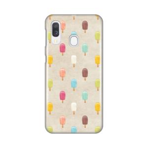 Maska Silikonska Print za Samsung A405F Galaxy A40 Ice Cream Pattern