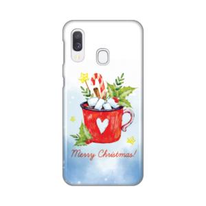 Maska Silikonska Print za Samsung A405F Galaxy A40 Merry Christmas