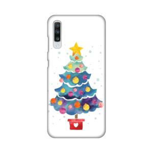 Maska Silikonska Print za Samsung A705F Galaxy A70 Christmas Tree