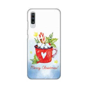 Maska Silikonska Print za Samsung A705F Galaxy A70 Merry Christmas