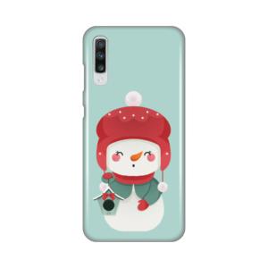 Maska Silikonska Print za Samsung A705F Galaxy A70 Snowman